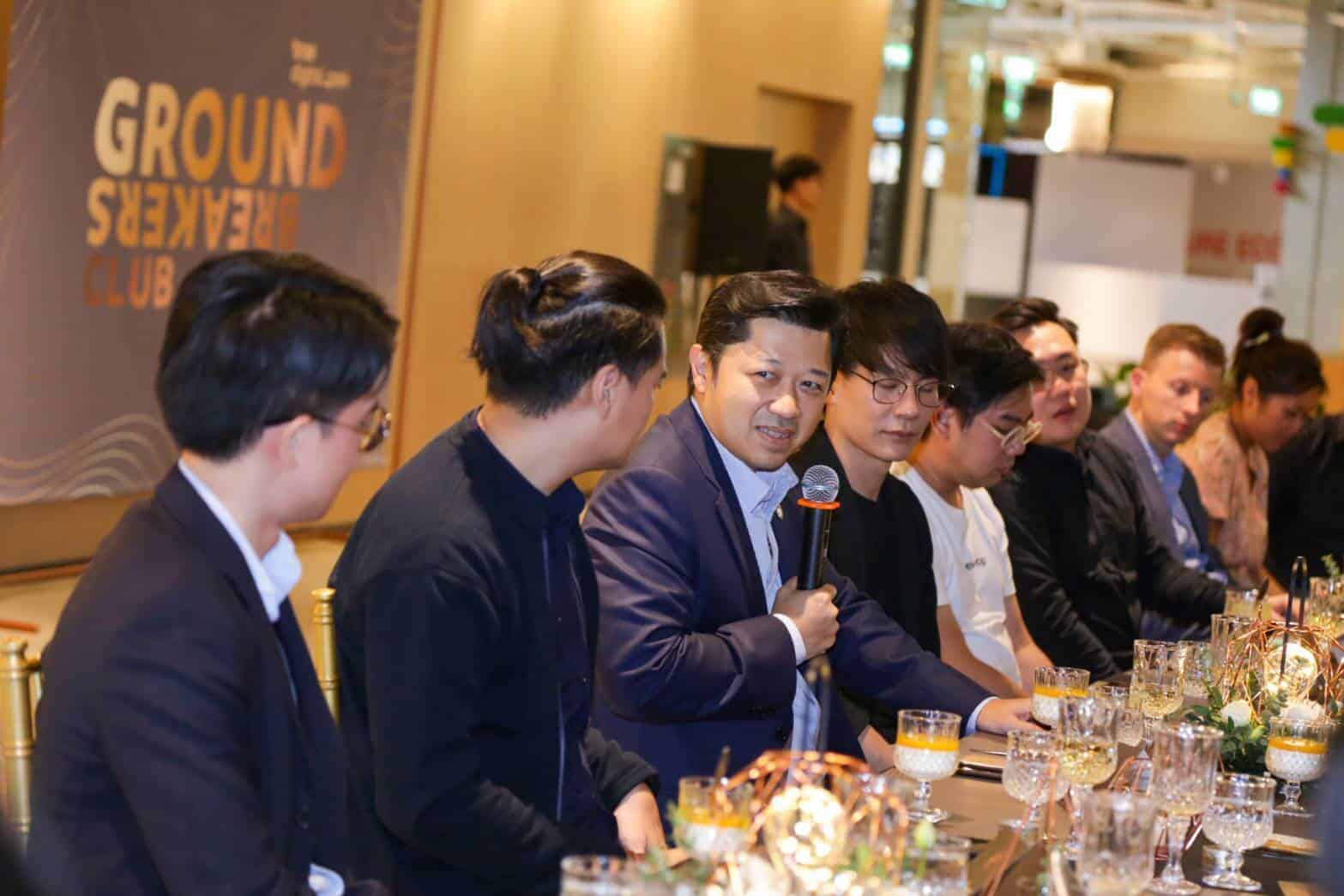 TRUE DIGITAL PARK KICKS OFF GROUNDBREAKERS CLUB--THE FIRST CLUB OF LEADING STARTUP FOUNDERS IN THAILAND.