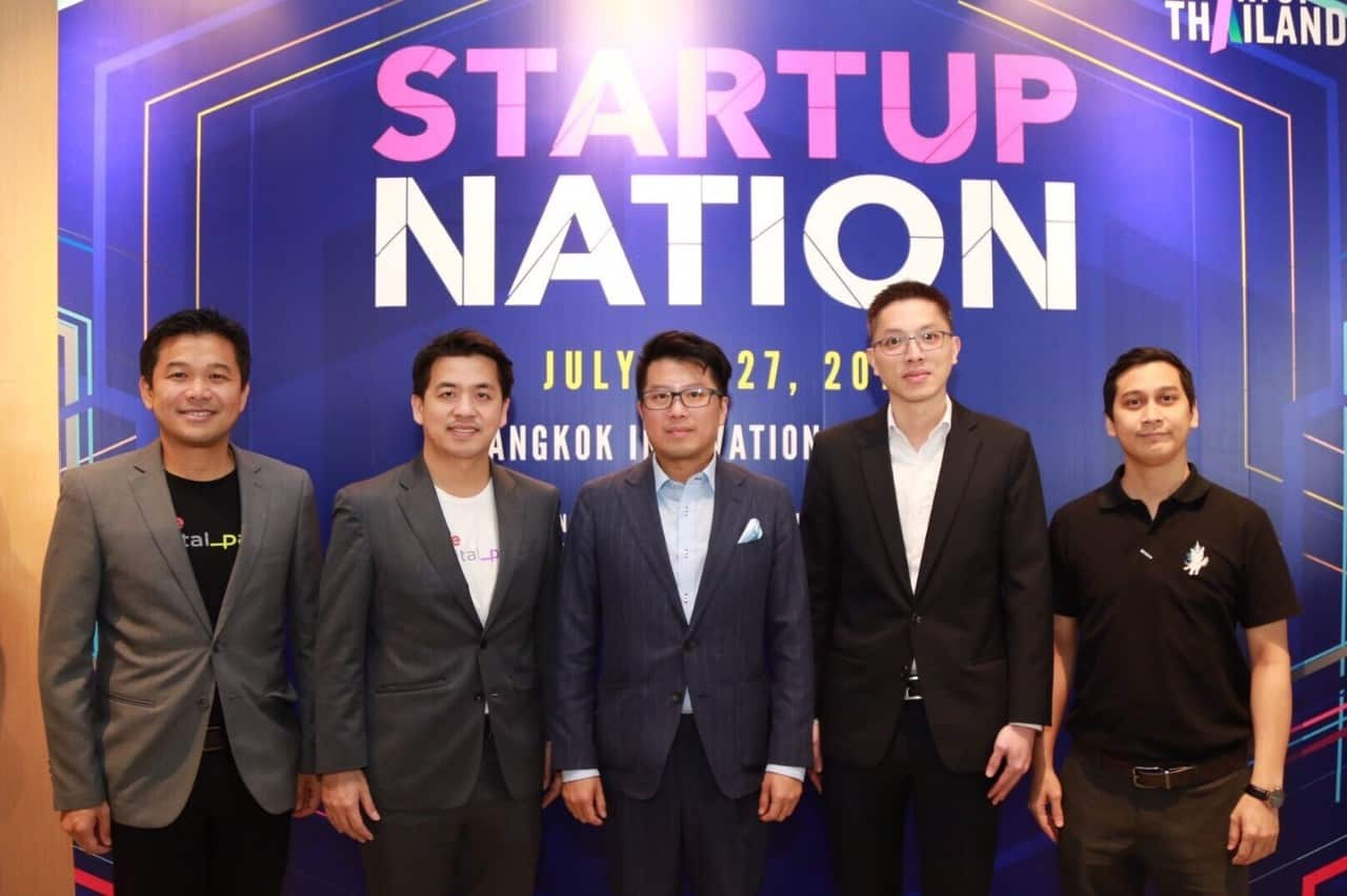 STARTUP THAILAND 2019 READY TO DRIVE THAILAND TO BE STARTUP HUB OF SOUTHEAST ASIA.