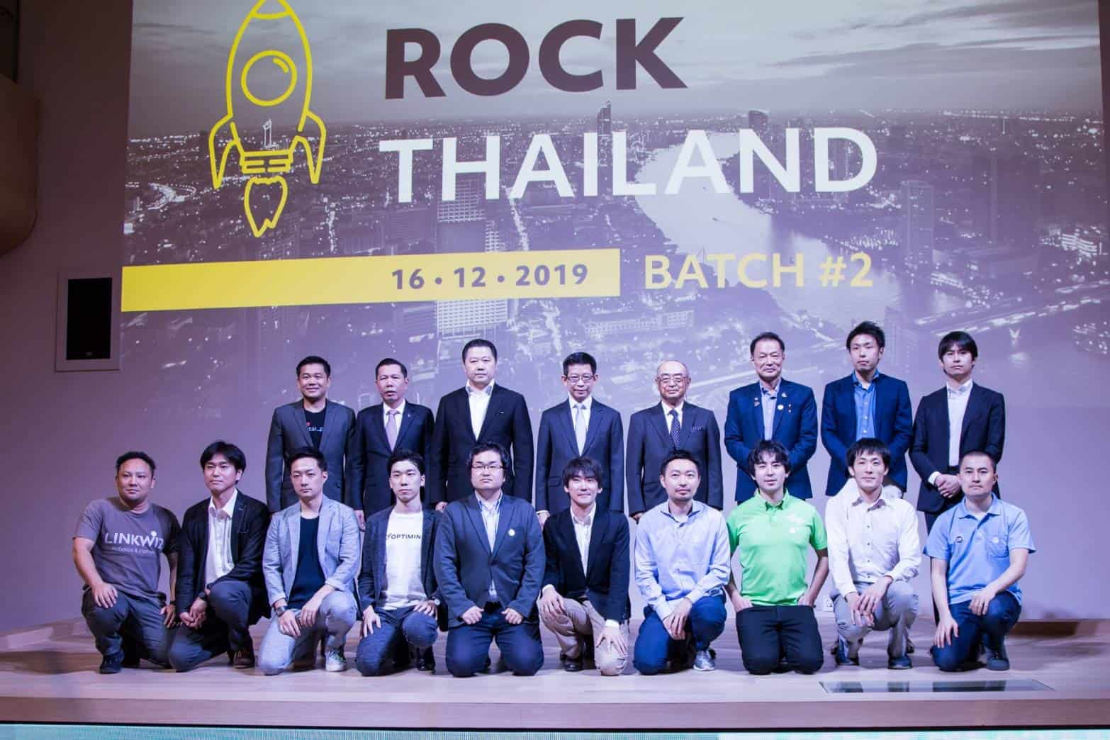 ROCK THAILAND OPENS CHANCES FOR TOP JAPANESE STARTUPS TO CONNECT WITH THAI CORPORATE.